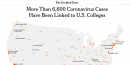 美國大學 COVID-19