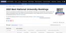 2021 US News 大學排名